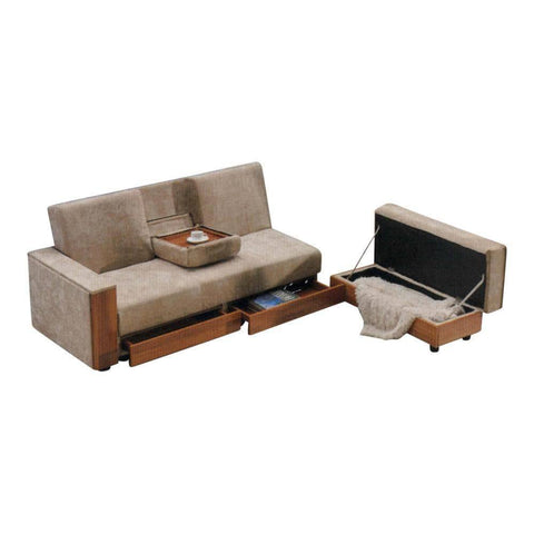 Caraheim Storage Sofa Bed-Megafurniture