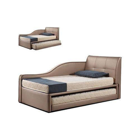 Carolyn 3 in 1 Daybed Pull Out Bed Frame-Megafurniture