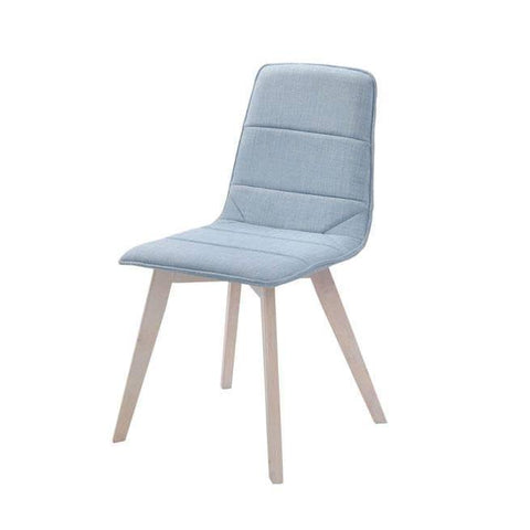 Celdtun Blue Fabric Dining Chair-Megafurniture