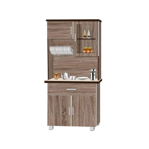 Channing Kitchen Cabinet with Top-Megafurniture