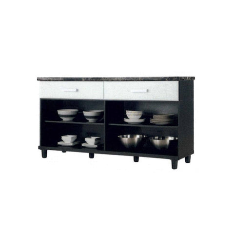 Clarissant Kitchen Cabinet-Megafurniture