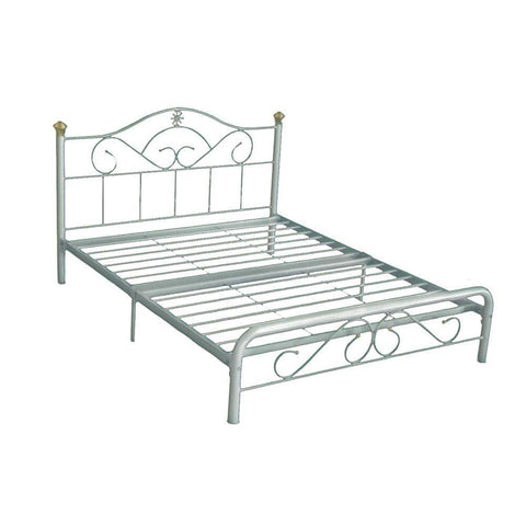 Countess Metal Bed Frame - Queen-Megafurniture