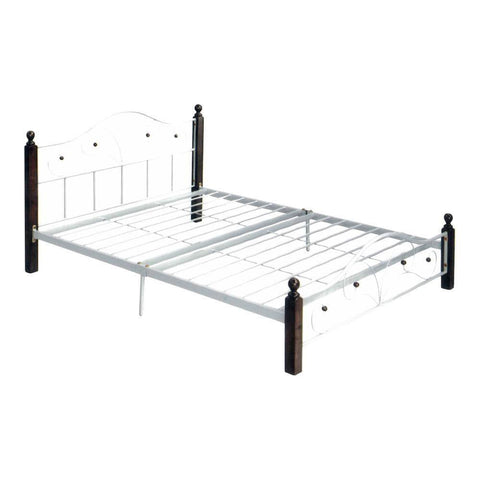 Curt Metal Bed - Queen-Megafurniture