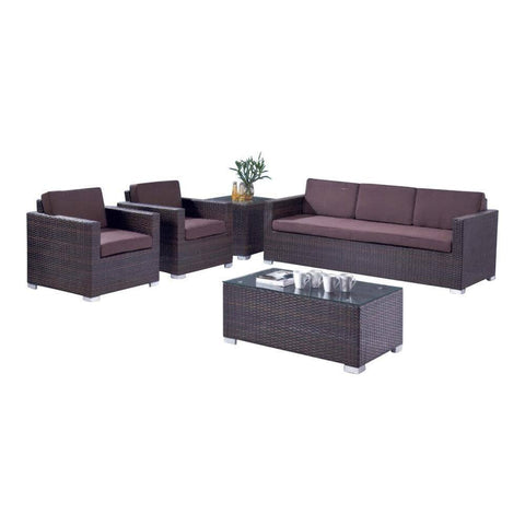 Cyprus Wicker Outdoor Sofa Set-Megafurniture