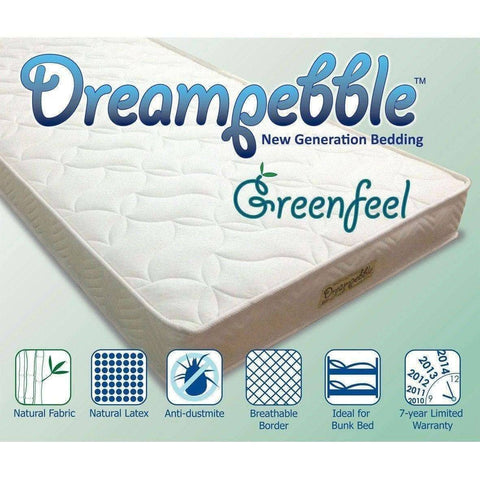 "Dreampebble Greenfeel 6"" Mattress-Megafurniture"