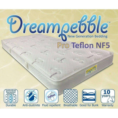 Dreampebble Pro Teflon NF5 Mattress-Megafurniture
