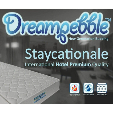 Dreampebble Staycationale Hotel Premium Mattress-Megafurniture