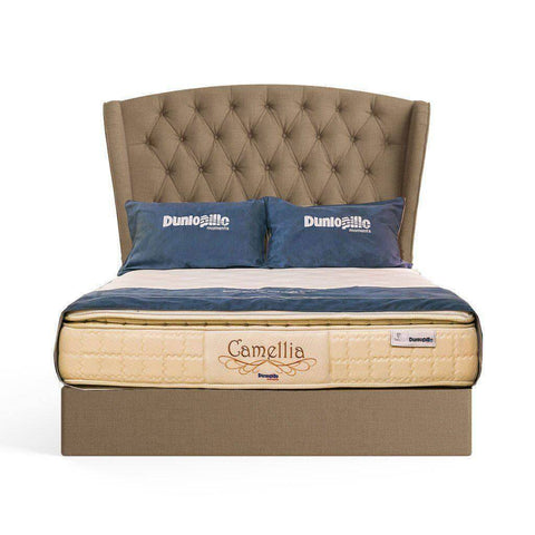 Dunlopillo Camellia Latex Pocketed Spring Mattress-Megafurniture
