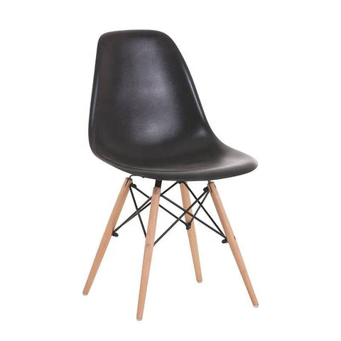 Eames Replica Black Chair-Megafurniture