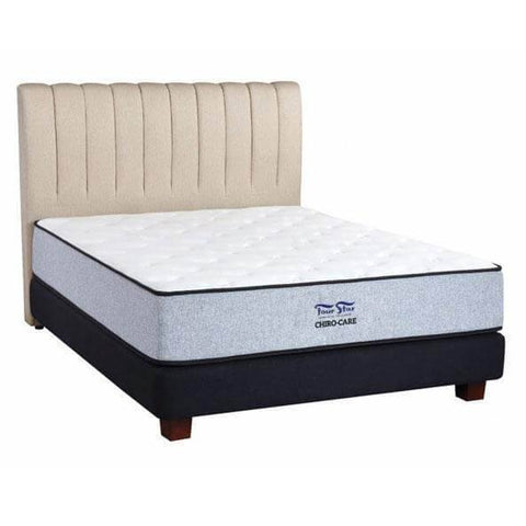 Four Star Chiro Care Double Offset LFK Spring Mattress-Megafurniture
