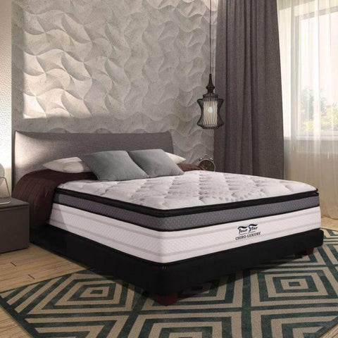 Four Star Chiro Luxury Double Offset LFK Spring Mattress-Megafurniture