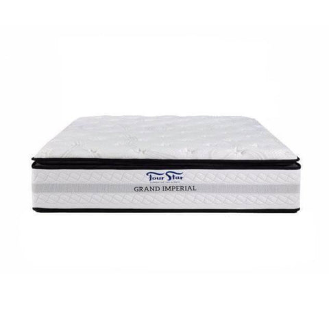 Four Star Grand Imperial Individual Pocketed Spring Mattress-Megafurniture