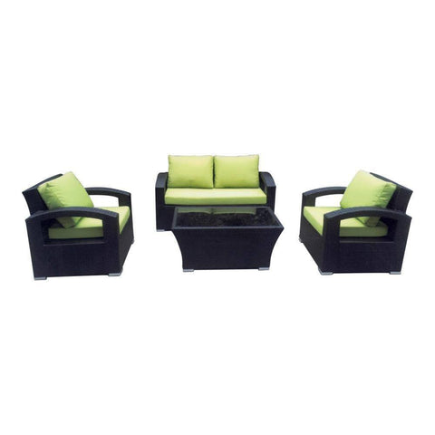 Gerome Wicker Outdoor Sofa Set-Megafurniture