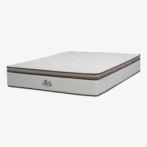 "Goodnite Aldi 12"" Double Posture Spring Eurotop Mattress-Megafurniture"
