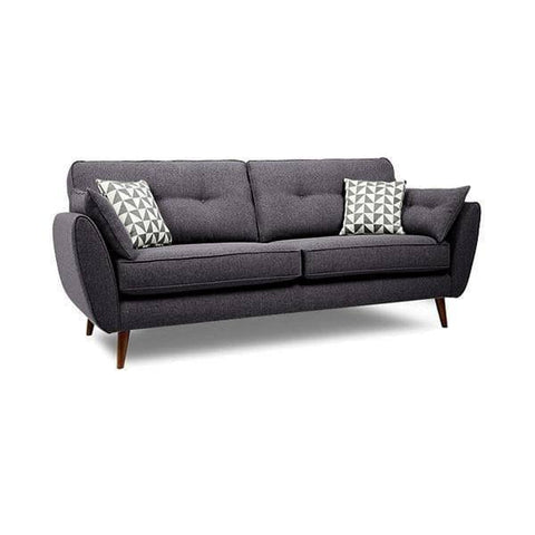 Heather Grey Fabric Sofa-Megafurniture