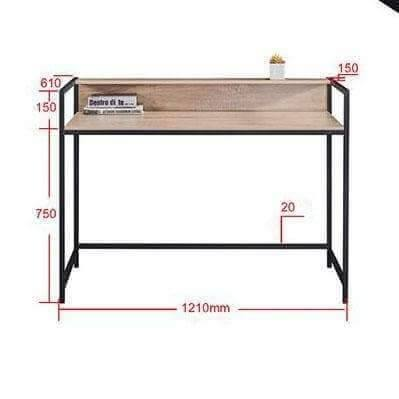 Lena Light Oak Study Table-Megafurniture