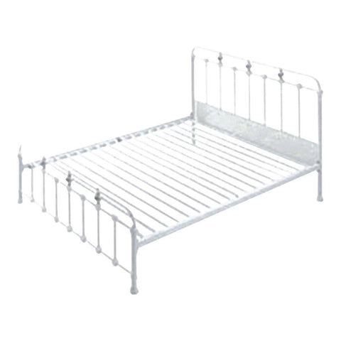 Luna Metal Bed Frame - Queen-Megafurniture