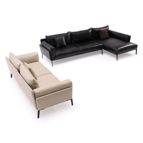 Lungo Genuine Leather Sofa (3 Seater) by Chattel-Megafurniture