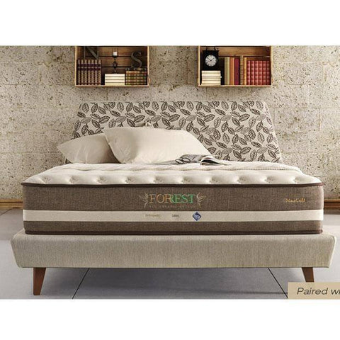 Maxcoil FORREST Eco Organic Cotton 1 Pocketed Spring Mattress-Megafurniture