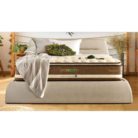 Maxcoil FORREST Eco Organic Cotton 3 Pocketed Spring Mattress-Megafurniture