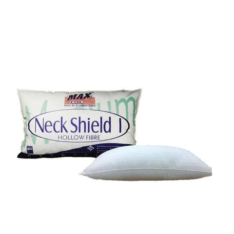 Maxcoil Neckshield Fibre Fill Pillow-Megafurniture