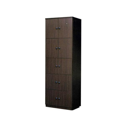 Miley Walnut Storage Cabinet-Megafurniture