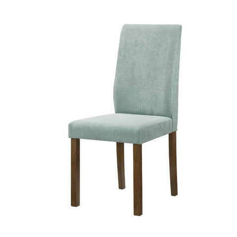 Mondeo Blue Fabric Dining Chair-Megafurniture
