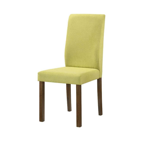 Mondeo Green Fabric Dining Chair-Megafurniture