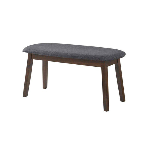 Nerissa Walnut Dining Bench-Megafurniture
