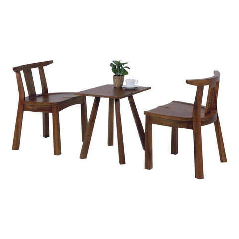 Pauline Teak Tea Set-Megafurniture