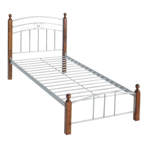 Polaris Metal Bed Frame - Single-Megafurniture