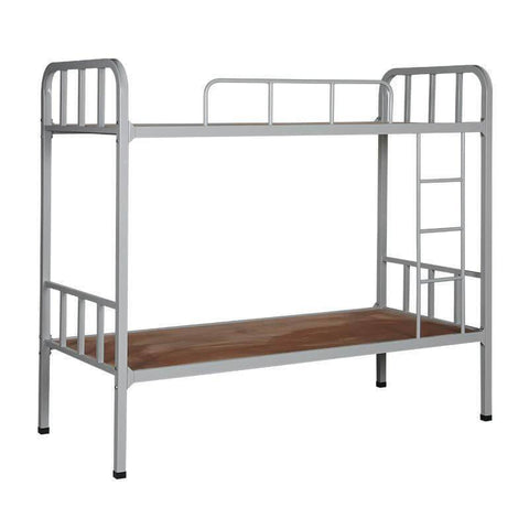"Polly Metal Bed Bunk Bed + 4"" Princebed Normal Foam Mattress-Megafurniture"