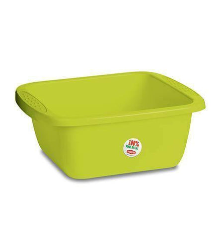 Primavera Lime Green Rectangular Basin (Stefanplast)-Megafurniture