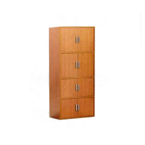 Rylee Cherry Storage Cabinet-Megafurniture