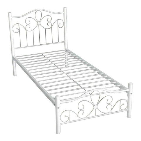 Sargas Metal Bed Frame-Megafurniture