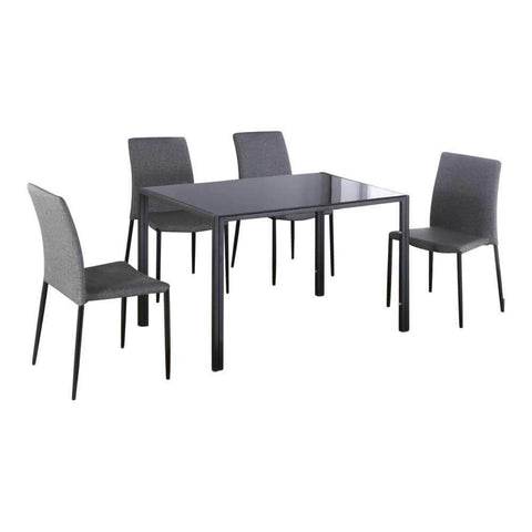 Shandy Glass Dining Set-Megafurniture