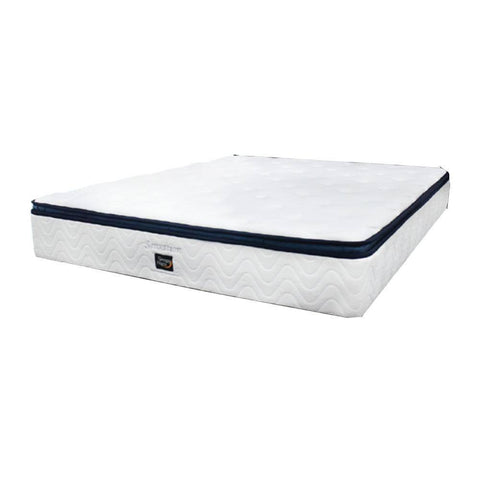 "Sleepy Night 11"" Sensation Natural Latex Pocketed Spring Mattress (Clearance)-Megafurniture"