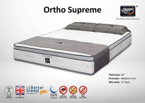Sleepy Night Ortho Supreme Mattress-Megafurniture