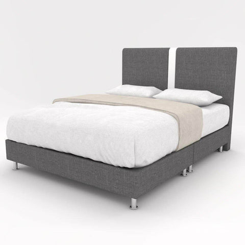 Sonnet Fabric Bed Frame-Megafurniture