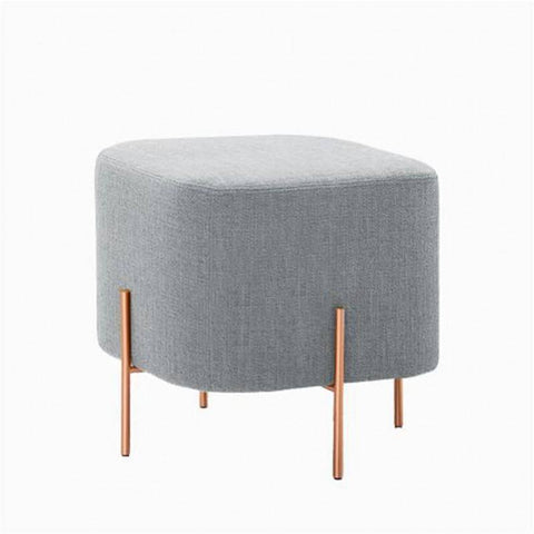 Sonnies Grey Ottoman-Megafurniture