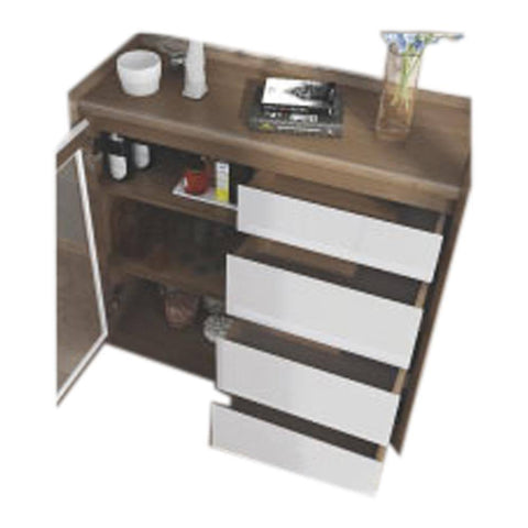 Targas Buffet Hutch-Megafurniture