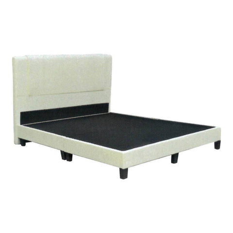 Trident Faux Leather Divan Bed Frame-Megafurniture