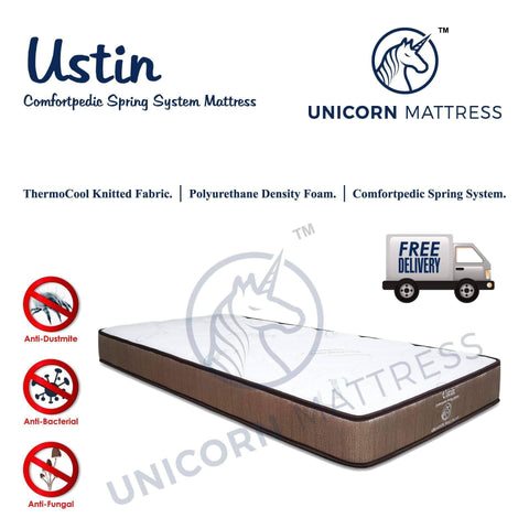 Unicorn Ustin Spring Mattress-Megafurniture