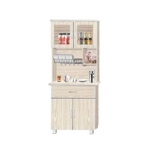 Verona Tall Kitchen Cabinet-Megafurniture