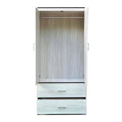Vickie 2 Door Wenge Wardrobe-Megafurniture