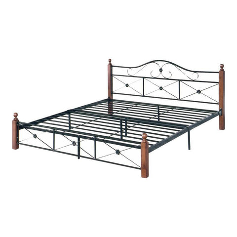 Yamuna Metal Bed Frame - King-Megafurniture