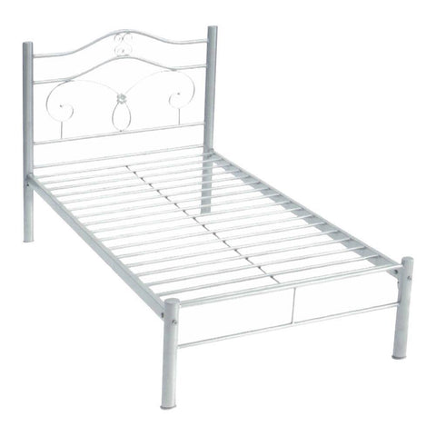 Yukon Metal Bed Frame - Single-Megafurniture