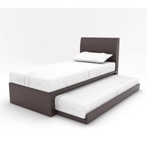 Zander Faux Leather 3 in 1 Pull Out Bed-Megafurniture