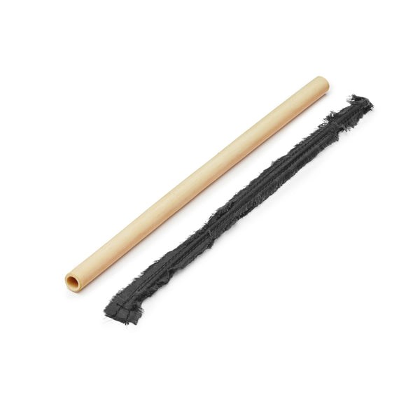 Personalised Bamboo STRAW & Bamboo Cleaning Stick Set