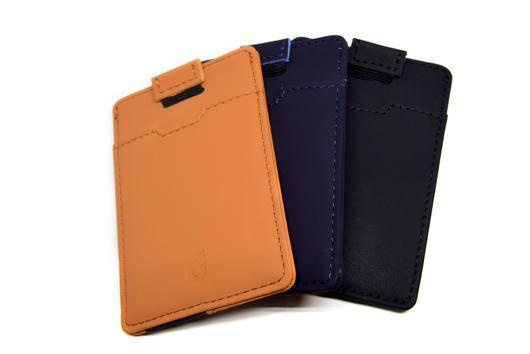 BOLDR Slim Wallet 2.0 - Brown/Blue